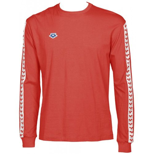 ARENA KOSZULKA UNISEX LONG SLEEVE TEAM ICONS RED-WHITE-RED ROZ. XXXL na Arena.pl