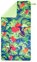 Ręcznik z mikrofibry Nils Camp NCR14 160x80 cm kwiaty