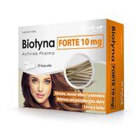 Biotyna Forte 10mg zdrowe mocne włosy