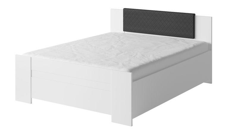 Nb2 łóżko 160 Ze Stelażem Bez Materaca Bono Zagłówek Do łóżka Czarny