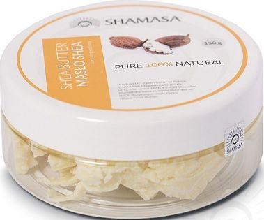 Shamasa Masło Shea 100% 70G Działa Nawilżająco