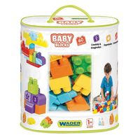 Baby Blocks torba 60 szt. WADER 41410