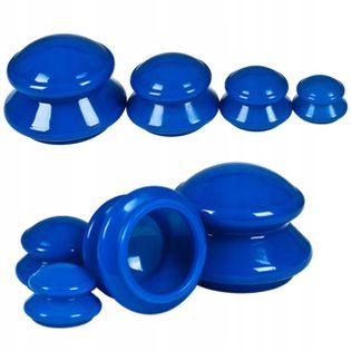 Bańki chińskie gumowe antycellulitowe masaż 4 szt
