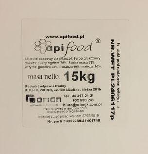 Apifood syrop 15kg
