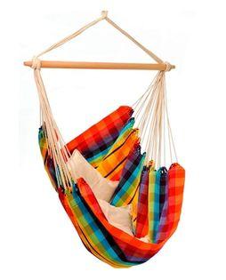 Huśtawka - wiszący fotel BRASIL Rainbow