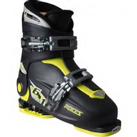 Buty narciarskie Roces Idea Up czarno-limonkowe JUNIOR 450491 18