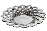 Patera ceramiczna JESSI 34x34x6 srebrny
