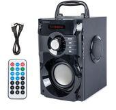 GŁOŚNIK BLUETOOTH BOOMBOX 2.0 USB SD AUX RADIO FM