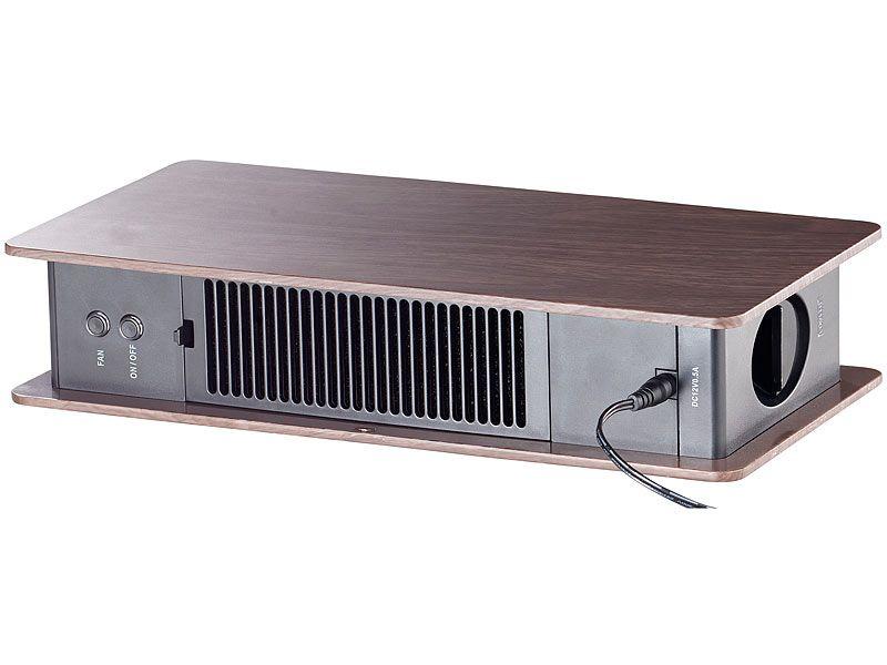 Oczyszczacz powietrza z jonizatorem brązowy Newgen Medicals zdjęcie 9