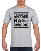 Koszulka męska NAJLEPSZY DZIADEK NA SWIECIE s M