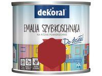 Farba Dekoral Akrylux Emalia szybkoschnąca (0.5 l, Płachta na byka)