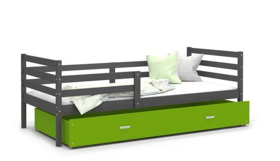 Łóżko JACEK P 190x80materac + szuflada