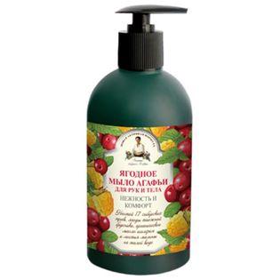 Mydło w płynie do rąk i ciała owoce leśne 500 ml - RECEPTURY BABCI AGAFI