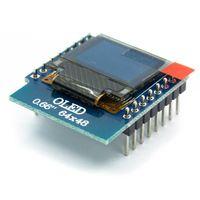 """Wyświetlacz OLED 0,66"""" dla Wemos D1 Mini dla Arduino STM32"""