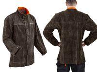 Kurtka spawalnicza - skórzana rozmiar XL Stamos Welding Group SWJ01XL