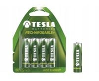 TESLA Akumulatorki Paluszki Baterie AA HR6 GREEN