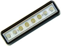 mocna Lampa 8 LED 20x5 oświetlenie wnętrza TIR Kabina Paka Bus 12v 24v
