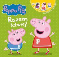 Peppa Pig. Opowiadania z naklejkami. Razem łatwiej!