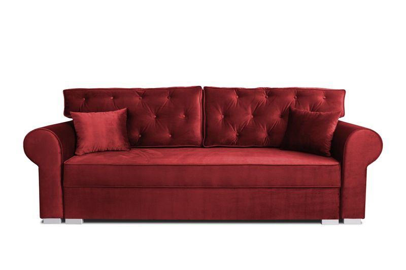 Sofa Kanapa 250cm Beżowa MONIKA PIK  różne kolory obić NC zdjęcie 5