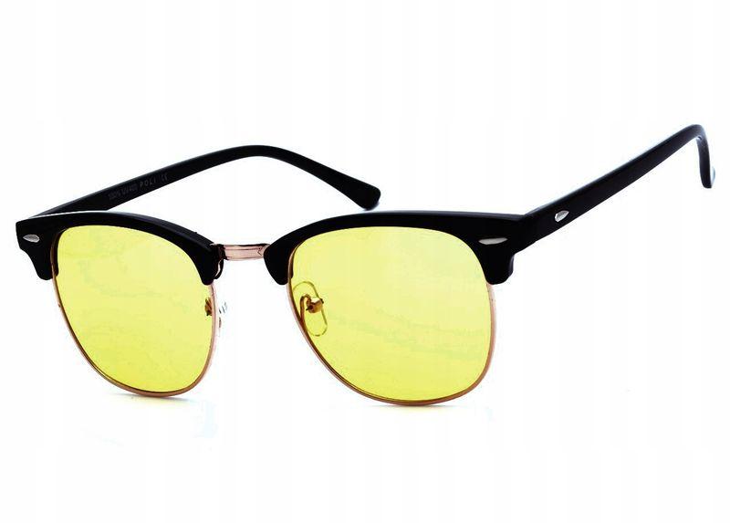 Okulary rozjaśniające dla kierowców półramki zdjęcie 2