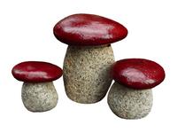 Ogrodowe ozdobne grzyby zestaw 3 sztuki
