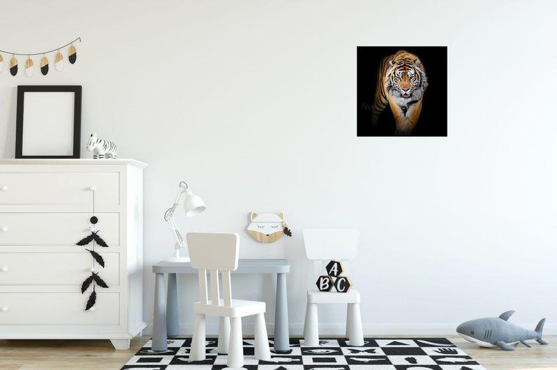 Obraz Na Ścianę 30X30 Tygrys Tygrys Zwierzę zdjęcie 3