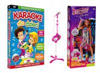 Zestaw Karaoke dla Dzieci SOLIDNY MIKROFON statyw