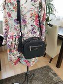 DAVID JONES torebka damska listonoszka kuferek kroko V380 różowa zdjęcie 4