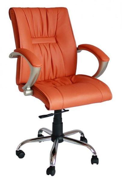 Fotel obrotowy krzesło biurowe skóra eko qzy 081 zdjęcie 2