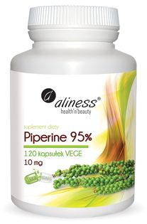 Piperyna 95% 10mg 120kaps Aliness