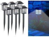 """Lampy ogrodowe solarne 6 sztuk Lunartec """"Asian"""" zdjęcie 8"""