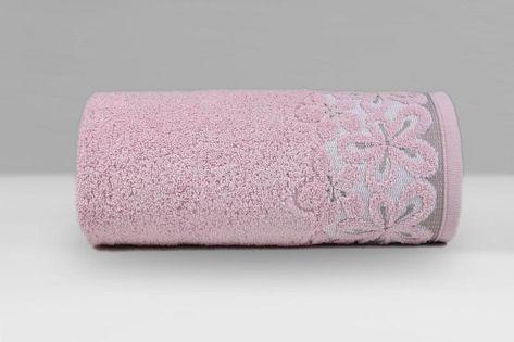 Ręcznik Bella 70x140 Greno RÓŻOWY