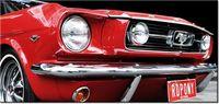 115cm 55cm Obraz ścienny Red Mustang Y druk rama cyfrowy płótno
