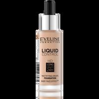 EVELINE Liquid Control HD 32ml - podkład do twarzy WARM BEIGE 040
