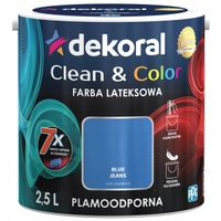 Dekoral Clean & Color 2,5L BLUE JEANS