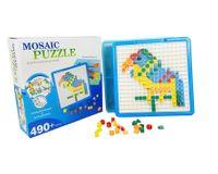 Mozaika Puzzle  490 elementów w pojemniku