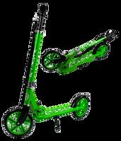 DUŻA HULAJNOGA SKŁADANA + PASEK DZIECI DOROŚLI Kolor: Zielony