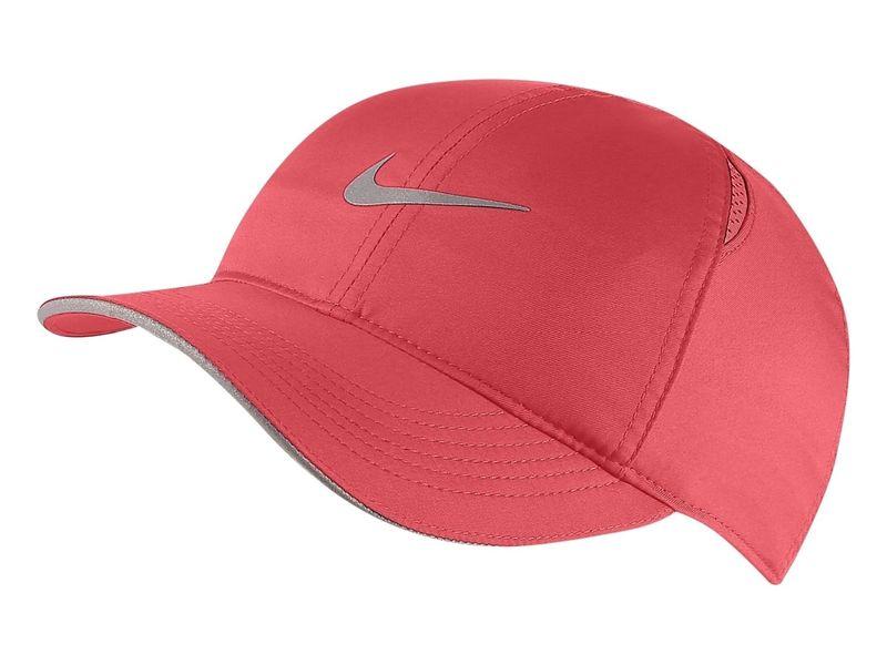 Czapka z daszkiem damska Nike Featherlight różowa