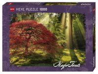 Heye Puzzle Magiczny las o zachodzie słońca 1000 el.