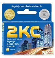 2 KC, 6 tabletek - Długi termin ważności!