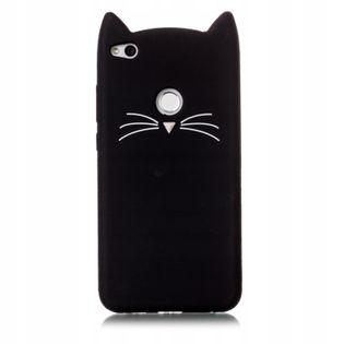 Etui Case do Huawei Mate 20 Lite Kot 3D Uszy Wąsy