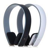 Słuchawki nauszne bezprzewodowe Bluetooth AEC białe / czarne