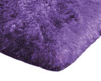Mięciutki wysoki dywan pluszowy 140x200 fioletowy