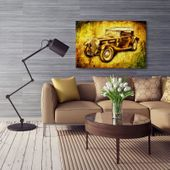 Obraz na płótnie - Canvas, Auto retro 100x70 zdjęcie 5