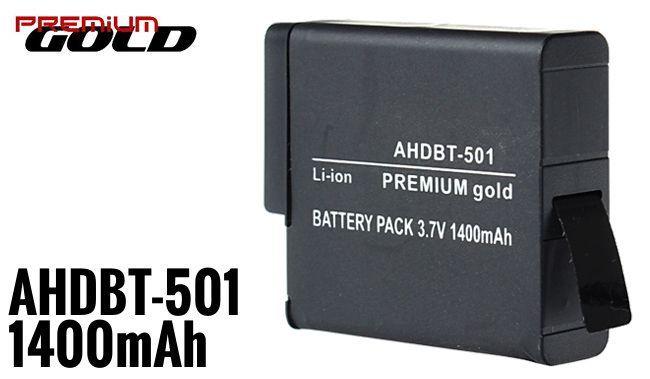 Akumulator AHDBT-501 1400mAh do GoPro Hero 5 zdjęcie 2