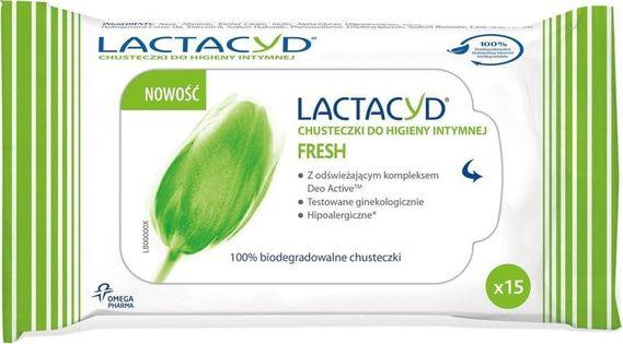 Lactacyd - Chusteczki Do Higieny Intymnej (15) Fresh