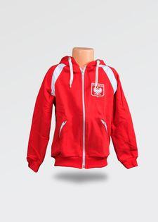 Czerwony dres dziecięcy Polska-68 cm