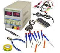 Zasilacz PS305D Laboratoryjny Serwisowy Start Pack
