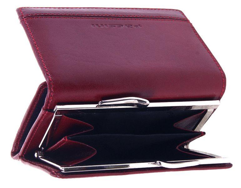 Wisniowy portfel damski - Paesini-1223 zdjęcie 2