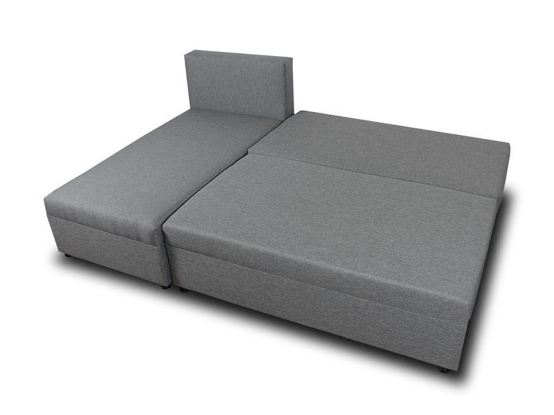 Tani narożnik rozkładany PONO z pojemnikiem - sofa rogówka łóżko zdjęcie 2